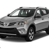 Silver 2014 Toyota RAV4 XLE